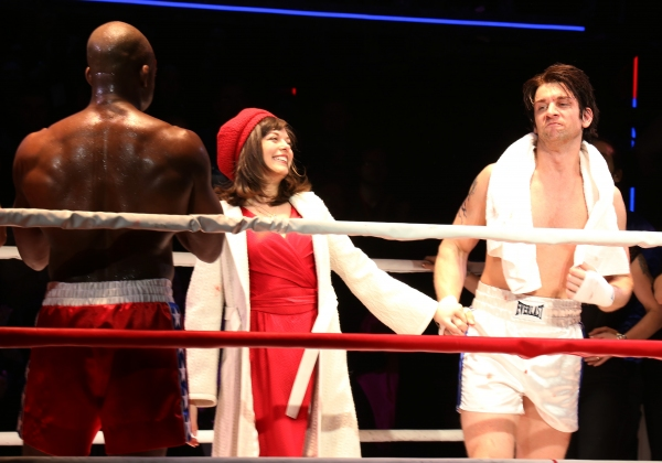 Photo Coverage: ROCKY Comes Out Punching with Surprise Appearance by Sylvester Stallone at First Preview!