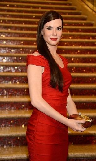 Sandra Bullock Wax Figure