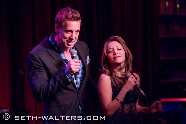 Photo Flash: Christina Bianco Visits BROADWAY AT BIRDLAND