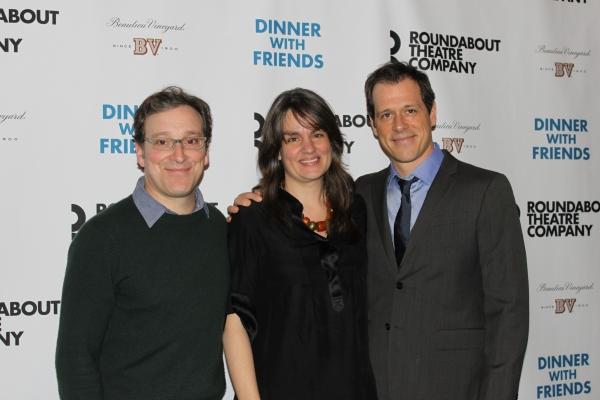 Jeremy Shamos, director Pam MacKinnon, Darren Pettie