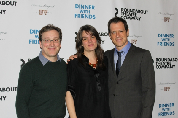 Jeremy Shamos, director Pam MacKinnon, Darren Pettie