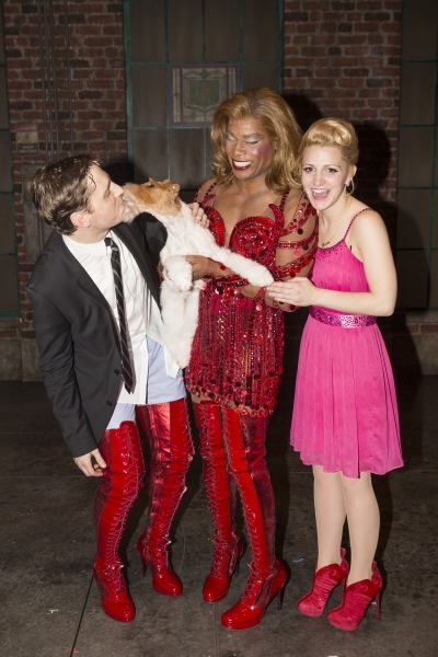 Photo Flash: 2014 Westminster 'Best In Show' Winner Makes Surprise Broadway Debut in KINKY BOOTS