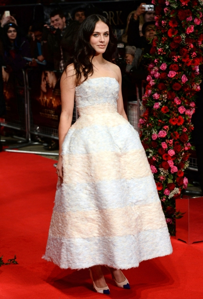 Fashion Photo of the Day 2/14/14 - Jessica Brown-Findlay