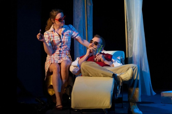 Photo Flash: First Look - MUCH ADO ABOUT NOTHING, Opening Tonight at The Players Theatre