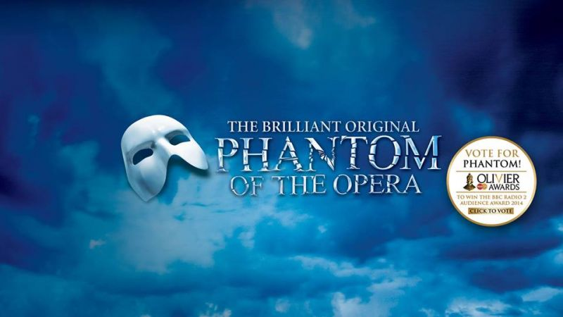 New Olivier Awards Campaign Video From West End THE PHANTOM OF THE OPERA