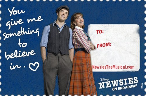NEWSIES Spreads The Love With Shareable & Printable Valentine's Day Cards