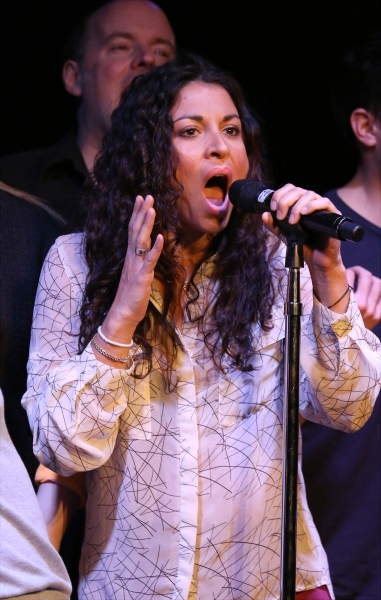 Photo Coverage: Idina Menzel & Cast of IF/THEN Give Fan Concert Preview in NYC!