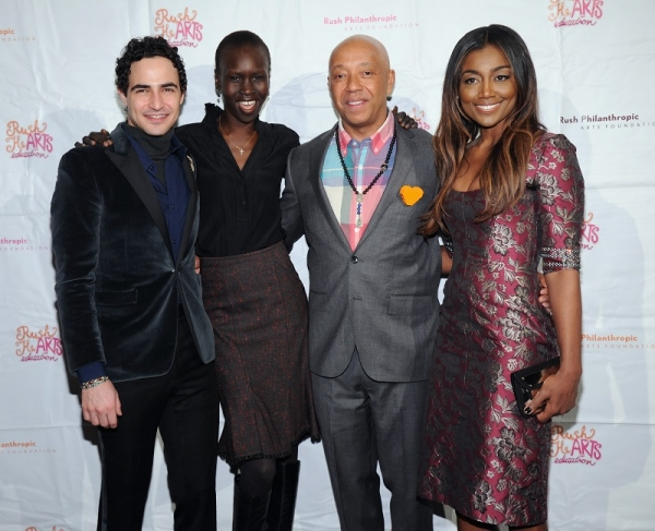 Photo Flash: Patina Miller, Russell Simmons, Cynthia Nixon and More Attend Rush HeARTS Education Luncheon