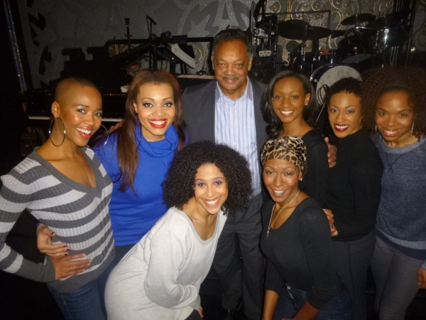 Rev. Jesse Jackson and the Ladies of AFTER MIDNIGHT