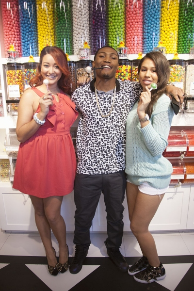 Jayne Avaunt, Theo Banks and Empress Hang Out And Enjoy Couture Pops at Sugar Factory in Hollywood