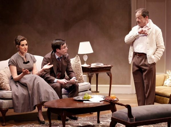 Photo Flash: First Look at Jonathan Hadary, Nicole Lowrance and More in Keen Company's MIDDLE OF THE NIGHT