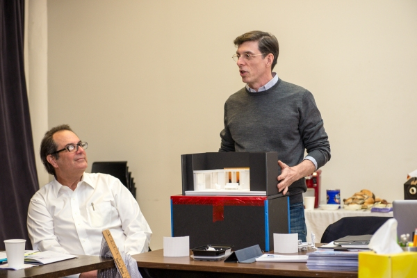 Photo Flash: In Rehearsal with the Cast of TACT's Revival of Christopher Durang's BEYOND THERAPY