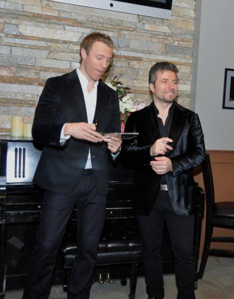 Fraser Walters and Reigio Pereira
