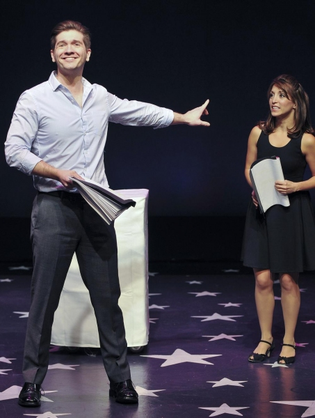 David Ayers as Leander and Christina Bianco as Lucinda