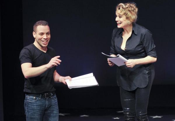 Robin de Jes�'ºs as Jacques and Cady Huffman as Jacqueline Photo