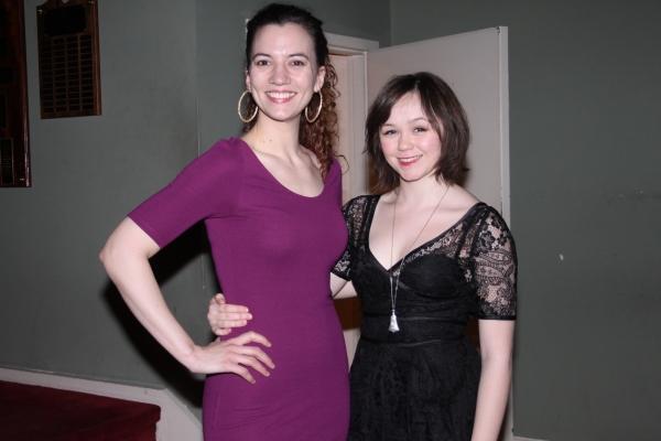 Pearl Rhein and Emily Skeggs