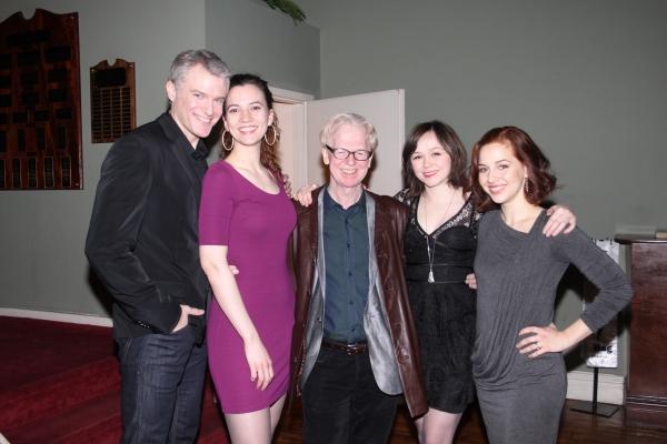 Edward Watts, Pearl Rhein, Larry Kirwan, Emily Skeggs and Jessica Grove