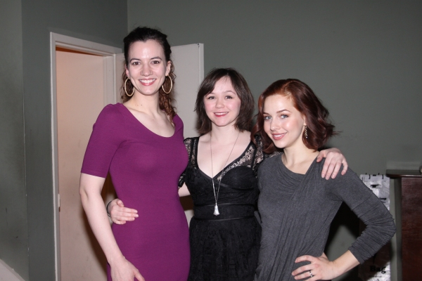 Pearl Rhein, Emily Skeggs and Jessica Grove