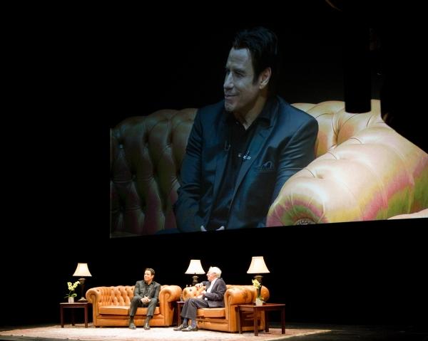 John Travolta and Jonathan Ross Photo