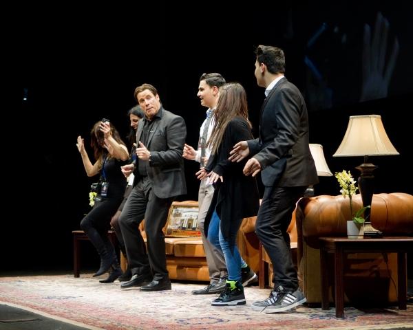 John Travolta and company Photo