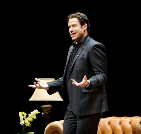 Photo Flash: Inside John Travolta's West End Stage Conversation!