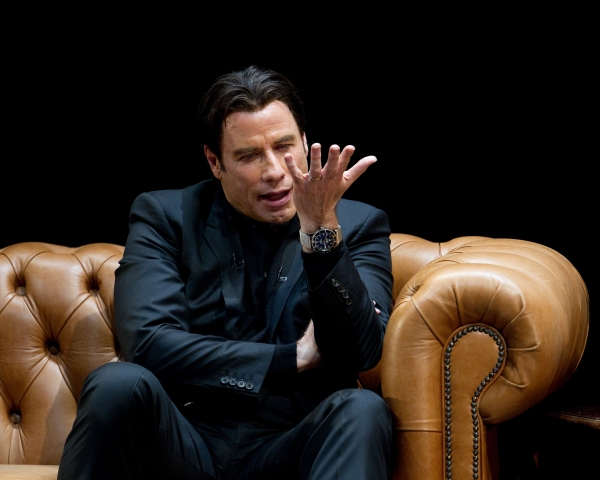 Photo Flash: Inside John Travolta's West End Stage Conversation!