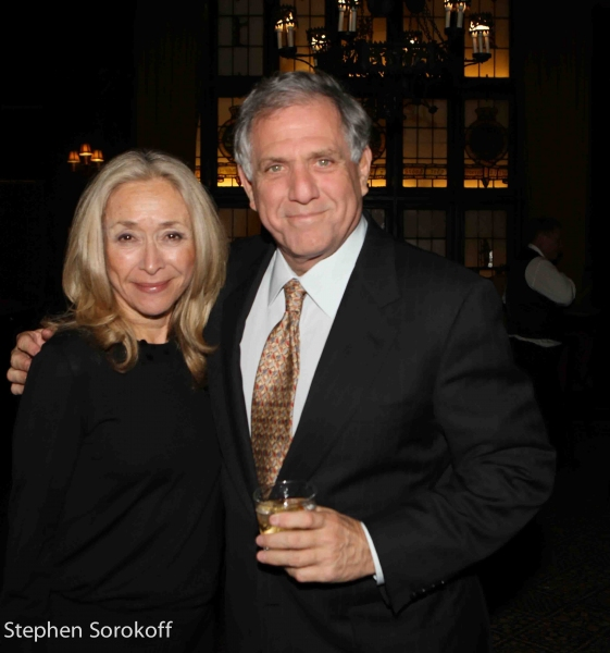 Eda Sorokoff & Leslie Moonves Photo