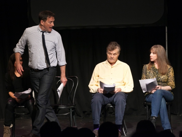 Michael Hitchcock, Fred Willard, Laraine Newman