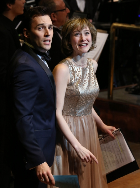 Photo Coverage: Inside the Ship of Dreams: A Look Back at TITANIC: THE MUSICAL Concert at Avery Fisher Hall with Michael Cerveris,  Brian d'Arcy James & More!