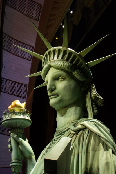 Photo Coverage: First Look at HEART AND LIGHTS' Lady Liberty Puppet