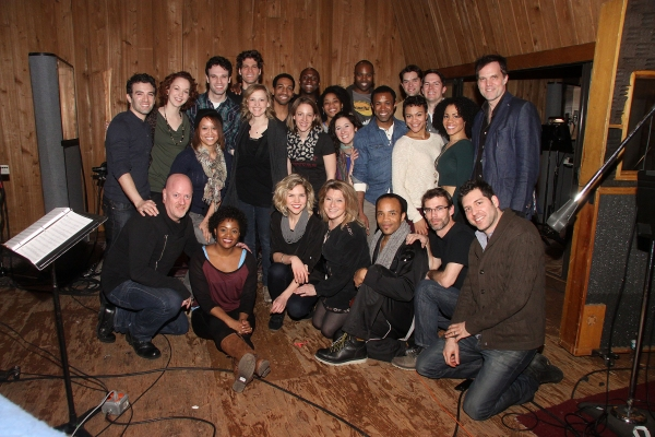 Cast of BEAUTIFUL with Steve Sidwell, Jason Howland and Billy Stein Photo