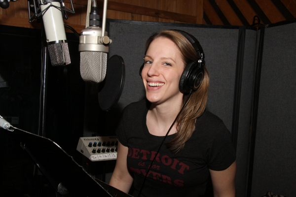 Photo Flash: In the Recording Studio with the Cast of Broadway's BEAUTIFUL!