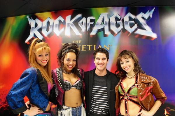 Darren Criss, Becca Kotte, Celina Nightengale, Kristen Paulicelli