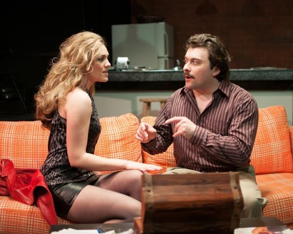 CHRISTINA ELISE PERRY as Darlene and KIRK GOSTKOWSKI as Eddie
