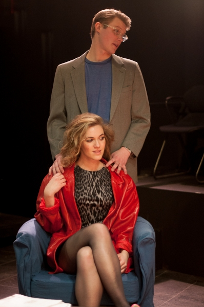 DEVEN ANDERSON (above) as Mickey and CHRISTINA ELISE PERRY (below) as Darlene