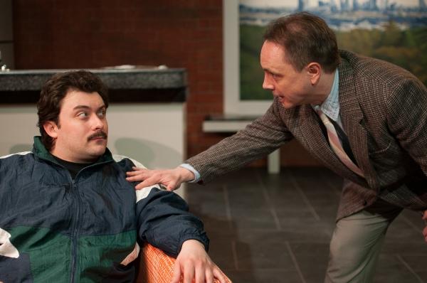 KIRK GOSTKOWSKI as Eddie and CHRIS HARCUM as Artie