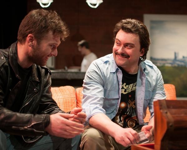 BRANDON SCOTT HUGHES as Phil and KIRK GOSTKOWSKI as Eddie