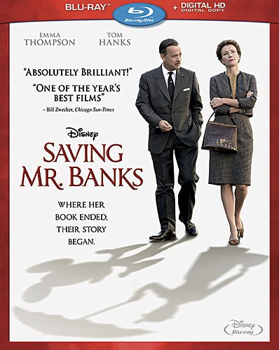 SAVING MR. BANKS Blu-ray & DVD Now Available