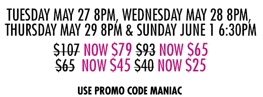 Discount Watch: Two New Discounts! Mirvish Offers Discounts for FLASHDANCE and ARRABAL!