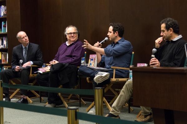 Tom Santopietro, Christopher Hart, Santino Fontana, Tony Shalhoub Photo