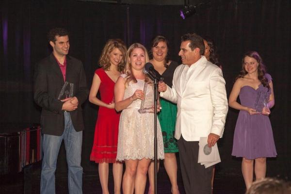 Winner, Jennifer Kranz, accepts her award