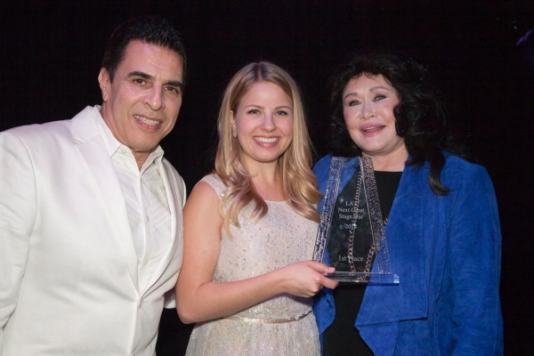Winner, Jennifer Kranz, with Co-Executive Producers, Michael Sterling and Barbara Van Orden