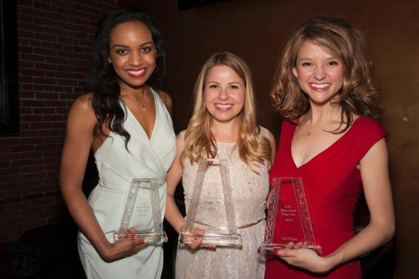 Jade Johnson (5th Place), Jennifer Kranz (1st Place) and Adrienne Visnic (3rd Place)