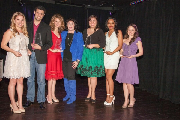 Jennifer Kranz (1st Place), Travis Leland (2nd Place), Adrienne Visnic (3rd Place), Barbara Van Orden (Co-Executive producer), Danielle Painton (4th Place), jade Johnson (5th Place) and Kimberly Hessler (6th Place)