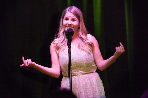 Contestant and Winner, Jennifer Kranz, sings Disneyland