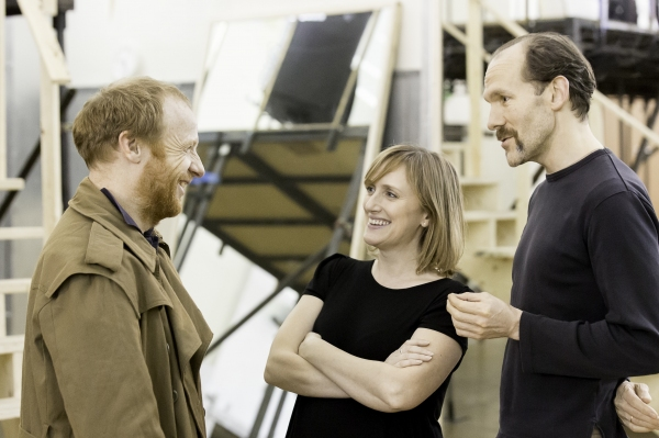 Jonathan Slinger, Jenna Russell, Simon Paisley Day Photo