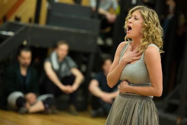 Photo Flash: Raise the Barricade! In Rehearsal with the Company of Broadway-Bound LES MISERABLES