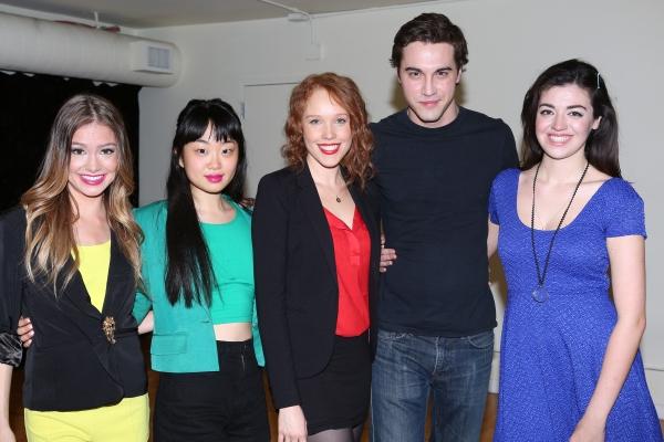 Elle McLemore, Alice Lee, Jessica Keenan Wynn, Ryan McCartan and Barrett Wilbert Weed Photo