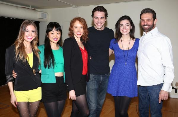Elle McLemore, Alice Lee, Jessica Keenan Wynn, Ryan McCartan, Barrett Wilbert Weed an Photo