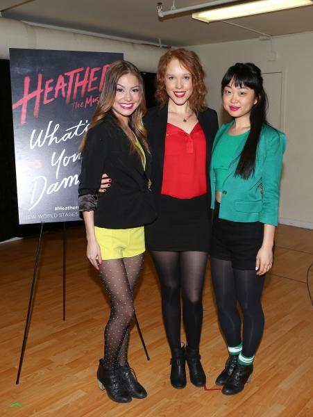Elle McLemore, Jessica Keenan Wynn and Alice Lee Photo